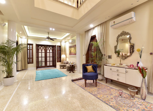 Indian Living Room by VB Design Studio