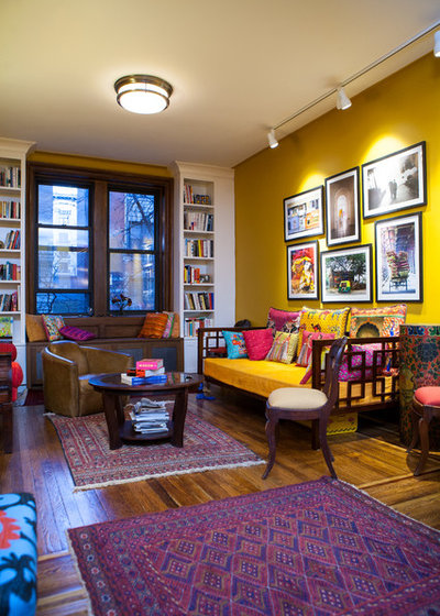 Eclectic Living Room by Debra Kling Colour Consultant