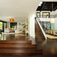Contemporary Wood Flooring by Floortex Design