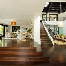 Contemporary Hardwood Flooring by Floortex Design