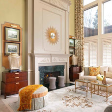 Traditional Living Room by Elaine Williamson Designs