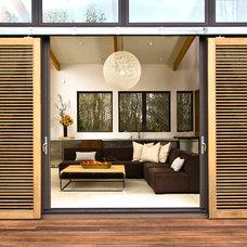 Modern Living Room by Nicholas Design Collaborative