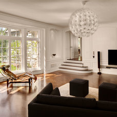 Contemporary Living Room by Sazama Design Build Remodel