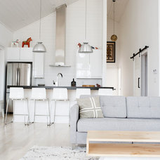 Transitional Living Room by Eastvold Furniture