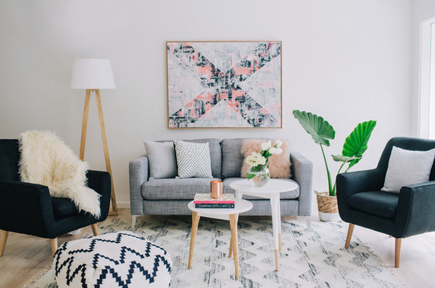 Skandinavisk Vardagsrum Scandinavian Living Room
