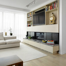 Contemporary Living Room by Jill Greaves Design