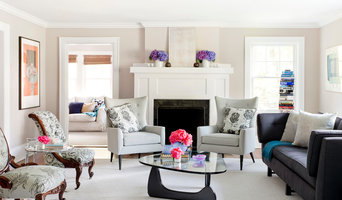 Scarsdale, New York, Eclectic Living Room