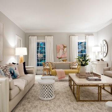 Scarsdale Pink and Plush