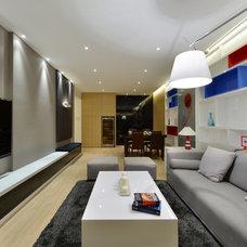 Modern Living Room by S.I.D.Ltd.