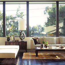 Modern Living Room by Belzberg Architects