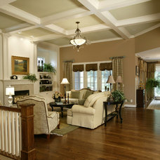 Traditional Living Room by The Schnicke Company