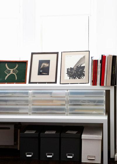 Eclectic Living Room by christian hubert studio