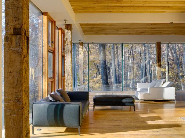 Modern Living Room by Jose Garcia Design