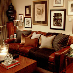 traditional living room by Scot Meacham Wood Design
