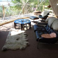 Modern Living Room by Go Glamping