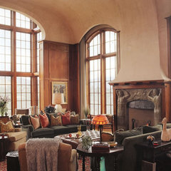 traditional living room by Scott Cornelius Architect