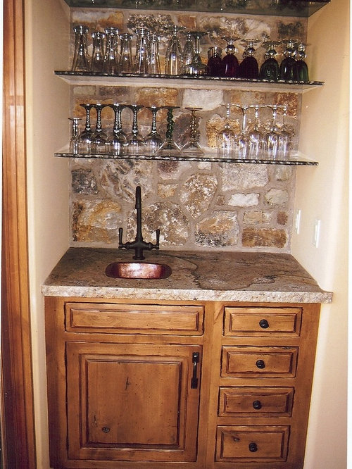 Rustic Wet Bars Ideas Pictures Remodel And Decor