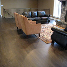 Traditional Living Room by Revival Flooring
