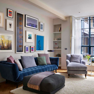 This is an example of an urban living room in London.