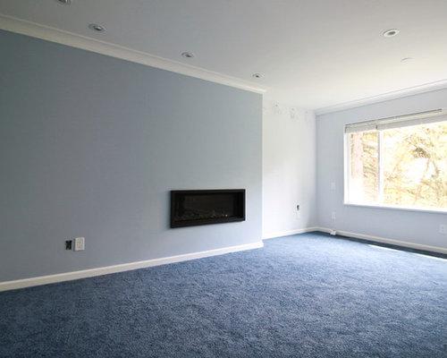 Wohnzimmer mit h ngekamin und teppichboden ideen design bilder beispiele - Teppichboden wohnzimmer ...