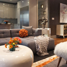 Modern Living Room by MB Jessee