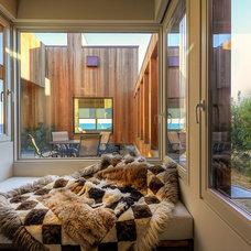 Midcentury Living Room by Hudson Street Design