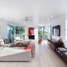 Contemporary Living Room by Minardos Group