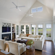 contemporary living room by John Clemmer Photography