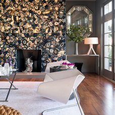 Eclectic Living Room by Applegate Tran Interiors