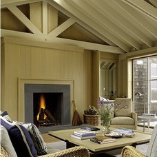 Traditional Living Room by Matarozzi Pelsinger Builders