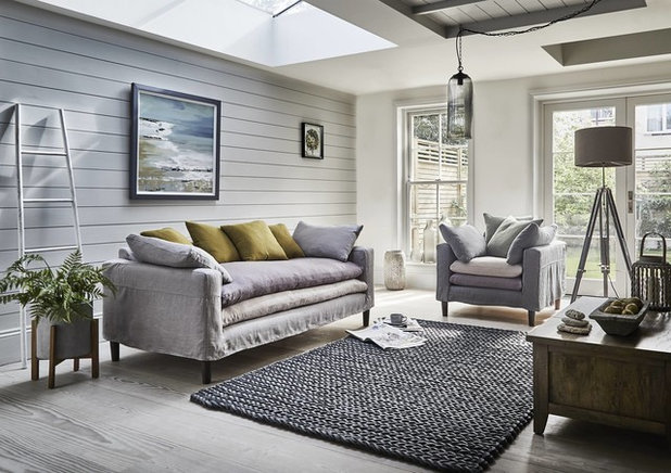 Beach Style Living Room by Barker and Stonehouse