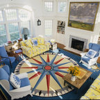 Nantucket Ma Traditional Living Room Other By