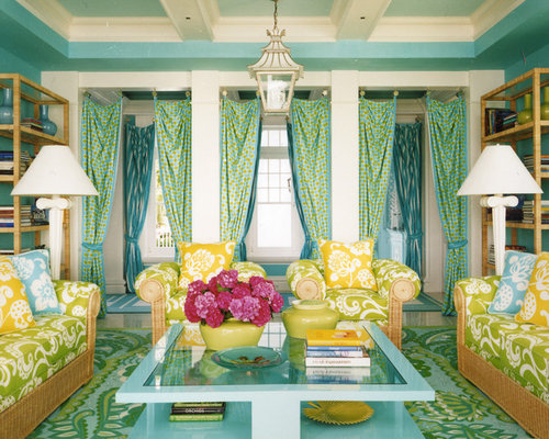 Yellow And Blue Curtains Ideas, Pictures, Remodel and Decor