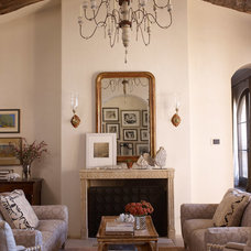 Mediterranean Living Room by Tim Clarke Design