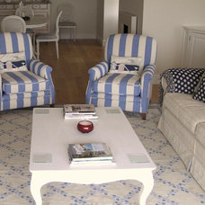 Modern Living Room by Celia James