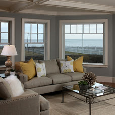 Contemporary Living Room by Beth Goldfarb