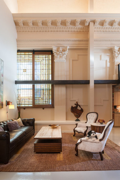 Traditional Living Room by LOCKWOOD INTERIORS
