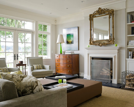 Living Room Source Light Gray Walls Houzz