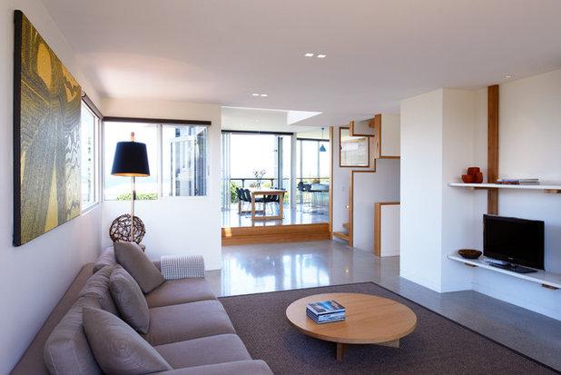 Contemporain Salon by Mackenzie Pronk Architects