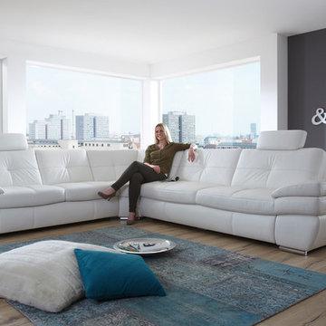 Sectional Sleeper Sofa Salzburg by Nordholtz   $5,795