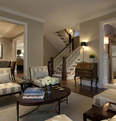 traditional living room by Michael Abrams Limited