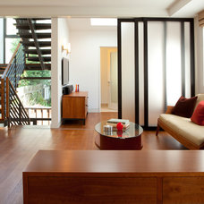 Contemporary Living Room by John Sutton Photography