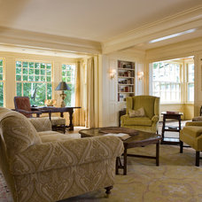traditional living room by Elizabeth Brosnan Hourihan Interiors