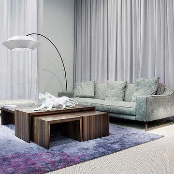 Selling: Indizio Sofa, Pensami Coffee Tables, Macchia and Arte Lamps...