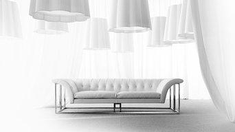 Selling: Rockouture Sofa, Fiore Suspension Lamp