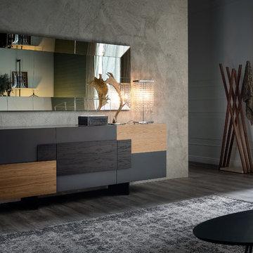 Selling: Torino Sideboard, Regal Mirror, Venezia Table Lamp, Oscar Coat Hanger