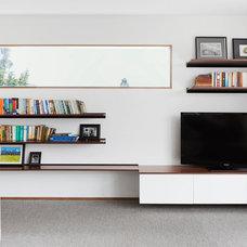 Contemporary Living Room by BTInteriors