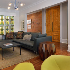 Contemporary Living Room by Arnal Photography