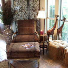 Eclectic Living Room by Greg Logsdon