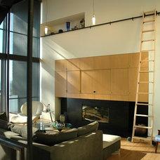 Contemporary Living Room by Eggleston Farkas Architects